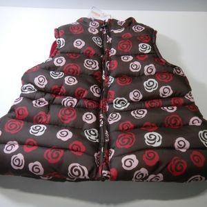 NWT GYMBOREE Sweet Treats puffer vest sz XS (3-4)